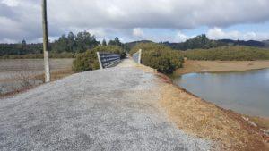 Cycle trail near Opua